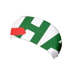 Logo Of Chunta Aragonesista, Pre-2009 Yoga Headband by abbeyz71