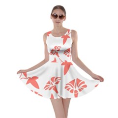 Floral In Coral  Skater Dress by TimelessFashion