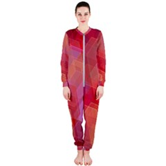 Abstract Background Texture Onepiece Jumpsuit (ladies)  by Pakrebo