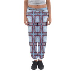 Pattern Cross Geometric Shape Women s Jogger Sweatpants by Pakrebo