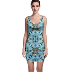 Background Wallpaper Bodycon Dress by Pakrebo