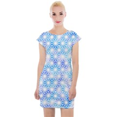 Traditional Patterns Hemp Pattern Cap Sleeve Bodycon Dress by Pakrebo
