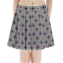 Pattern Wallpaper Background Pleated Mini Skirt