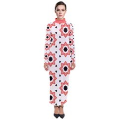 Flower Star Turtleneck Maxi Dress by TimelessFashion