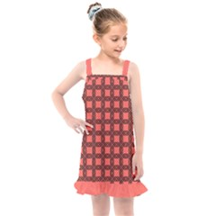 Grid Of Ellegance Kids  Overall Dress by TimelessFashion