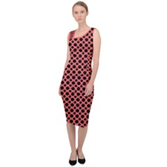 Polka Dots (small) Sleeveless Pencil Dress by TimelessFashion