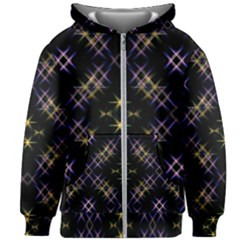 Seamless Background Abstract Vector Kids  Zipper Hoodie Without Drawstring