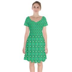 Texture Background Template Rustic Short Sleeve Bardot Dress by Pakrebo