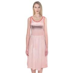 Marble Midi Sleeveless Dress