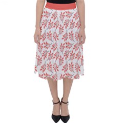 Just Leaves  Classic Midi Skirt by TimelessFashion