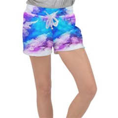 Download (1) Women s Velour Lounge Shorts by Crystalcreates