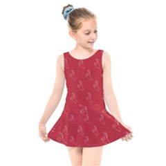 A Ok Perfect Handsign Maga Pro Trump Patriot On Maga Red Background Kids  Skater Dress Swimsuit by snek