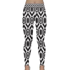 Decorative Pattern Classic Yoga Leggings by Valentinaart