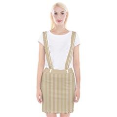 Nice Stripes  Braces Suspender Skirt