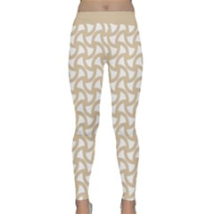 Odd Shaped Grid  Classic Yoga Leggings by TimelessFashion