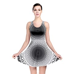Mandala Calming Coloring Page Reversible Skater Dress