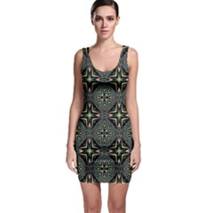 Kaleidoscope Pattern Seamless Bodycon Dress