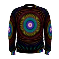 Artskop Kaleidoscope Pattern Men s Sweatshirt