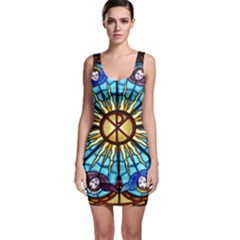 Church Window Stained Glass Church Bodycon Dress