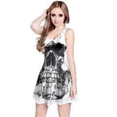 Black Skull Reversible Sleeveless Dress