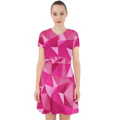 Pattern Halftone Geometric Adorable In Chiffon Dress by Pakrebo