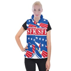Logo Of United States Forces Korea Women s Button Up Vest