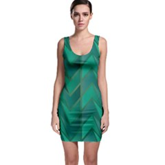 Geometric Background Bodycon Dress by Alisyart