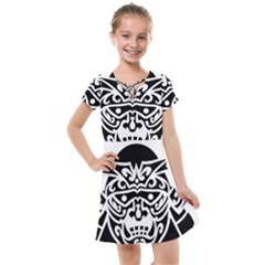 Hannya Japanese Kids  Cross Web Dress by Alisyart