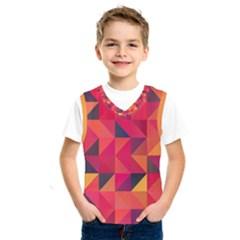 Halftone Geometric Kids  Sportswear