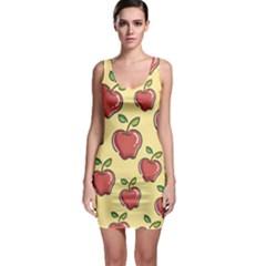Healthy Apple Fruit Bodycon Dress
