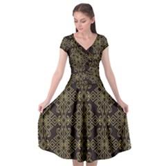 Timeless  Cap Sleeve Wrap Front Dress