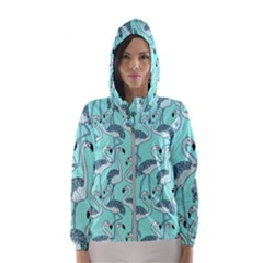 Bird Flemish Picture Hooded Windbreaker (women) by Mariart