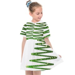 Christmas Tree Spruce Kids  Sailor Dress by Mariart