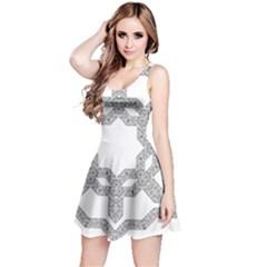 Encapsulated Reversible Sleeveless Dress by Jojostore