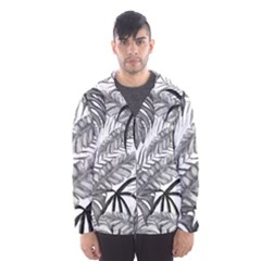 Leaves Nature Picture Hooded Windbreaker (men)