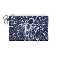 Shattered Canvas Cosmetic Bag (medium) by WensdaiAddamns