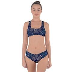 Design Background Modern Criss Cross Bikini Set