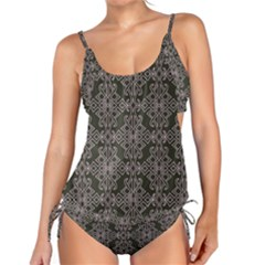 Line Geometry Tankini Set by Mariart