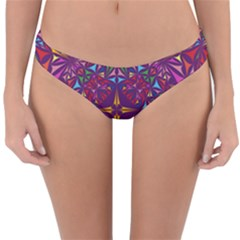 Kaleidoscope Triangle Pattern Reversible Hipster Bikini Bottoms by Mariart