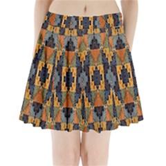 Ml 26 Pleated Mini Skirt by ArtworkByPatrick