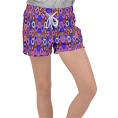 Ml 3-8 Women s Velour Lounge Shorts by ArtworkByPatrick