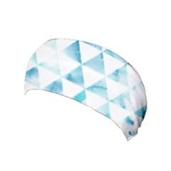 Hipster Triangle Pattern Yoga Headband by AnjaniArt