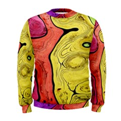 Pattern Background Abstract Men s Sweatshirt