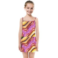 Fractal Mandelbrot Art Wallpaper Kids  Summer Sun Dress