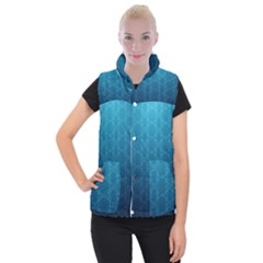 Mosaic Wallpaper Women s Button Up Vest