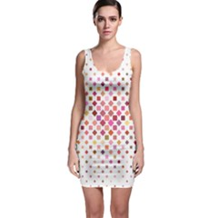 Square Pattern Background Repeat Bodycon Dress by AnjaniArt