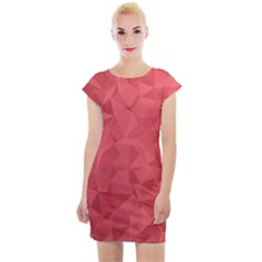 Triangle Background Abstract Cap Sleeve Bodycon Dress by Mariart