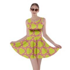 Pattern Background Structure Pink Skater Dress