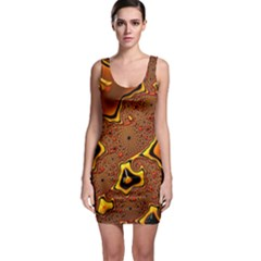 Fractal Julia Mandelbrot Art Bodycon Dress