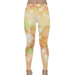Valentine Heart Love Pink Classic Yoga Leggings
